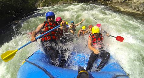 Best of Junggesellen-Rafting