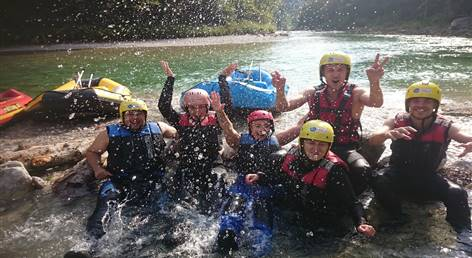 Rafting + Abenteuerpark (Tagestour)