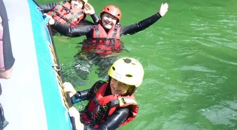 Rafting in der Nähe von Wien und Graz