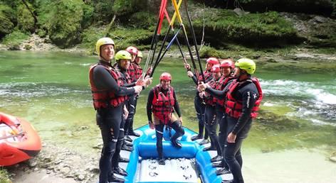 Best of Junggesellen-Rafting