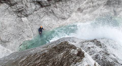 Canyoning_Fischbach