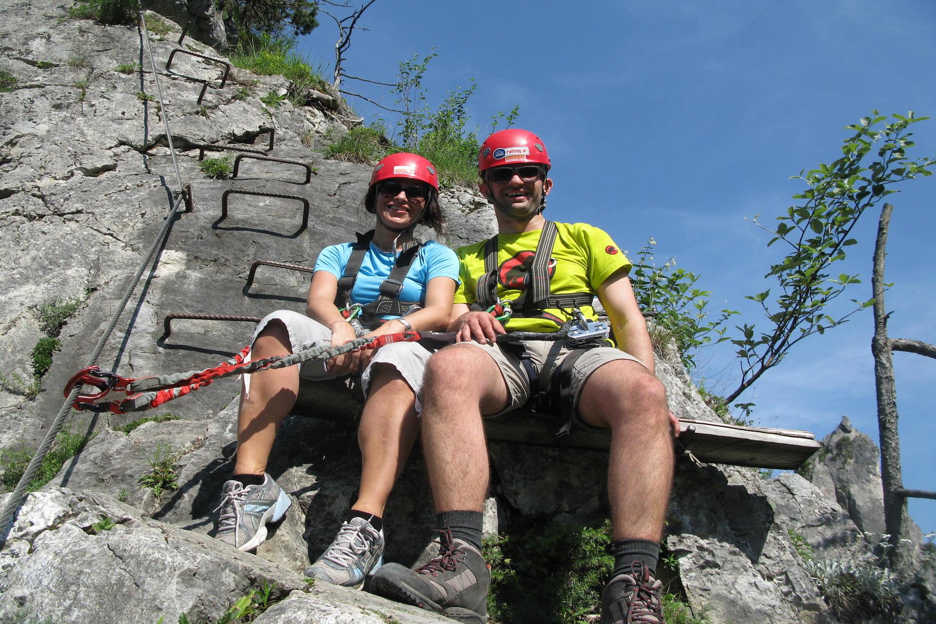 Klettersteig Rating : Alpinpark im nationalpark gesäuse in der steiermark